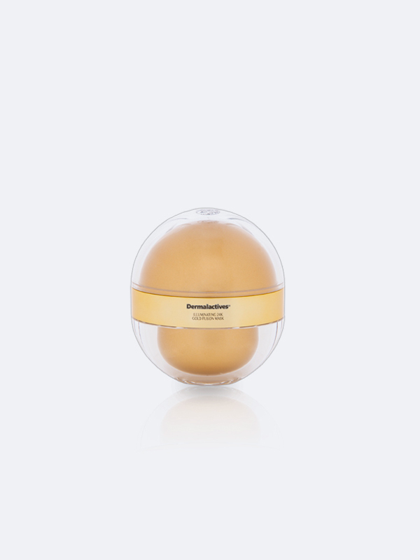 Illuminating Gold Fusion Mask